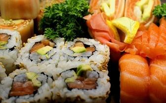 All You Can Eat de Sushi para 2 Pessoas + Bebida + Sobremesas + Cafés por 32€ nas Laranjeiras ao Jantar!