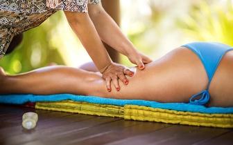 Massagem Anticelulite de 60 minutos por 30€ no Lumiar!