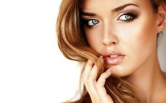 Madeixas com Brushing para cabelos médios e Manicure por 24€ em Sete Rios!