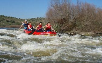 Rafting no Rio Guadiana em Serpa por 38€/pessoa!