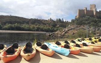 Parta à Conquista do Almourol: Orientação + Canoagem + Jogos Aquáticos por 20€/pessoa em Constância!