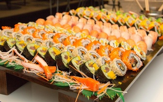 All You Can Eat de Sushi ao Jantar por 11,90€ nas Colinas do Cruzeiro!