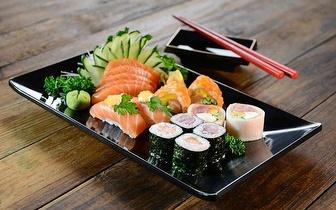 Take Away de Sushi: 1 Caixa + 1 Bebida por 6€ ao Jantar nas Colinas do Cruzeiro!