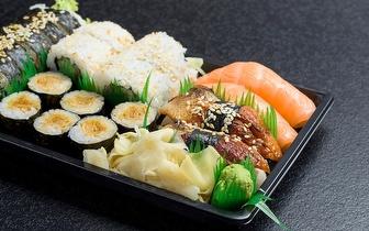 Take Away de Sushi: 1 Caixa + 1 Bebida por 6€ ao Almoço nas Colinas do Cruzeiro!
