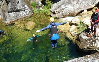 Canyoning por 43€/pessoa na Serra da Lousã ou Mortágua!
