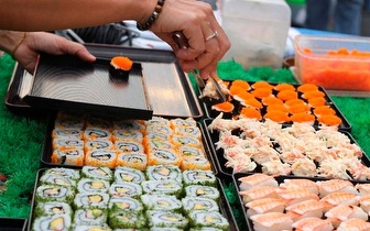 All You Can Eat de Sushi ao Almoço por 9,50€ em Miraflores!
