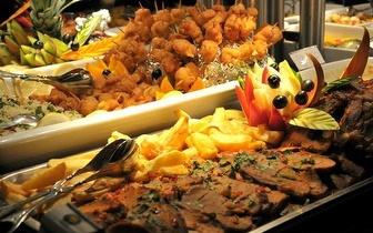 Buffet à discrição ao Almoço por apenas 6,95€ em Sete Rios!