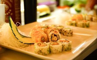 Jantar Romântico com Sushi de Fusão & Sangria de Espumante por 29€ na Póvoa de Varzim ao jantar!