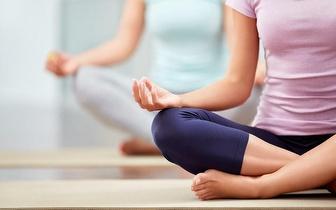 1 mês de aulas de Hatha Yoga e Acu Yoga por 13€ na Avenida João XXI!