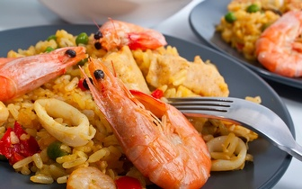Menu de Arroz de Marisco ou Gambas para 2 Pessoas por 25€ em Sesimbra ao almoço!
