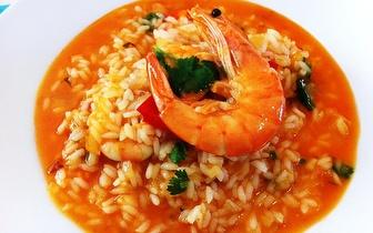 Arroz Marisco com 2 lagostas ou Açorda de Camarão para 2 pessoas, por 25€ em Sete Rios!