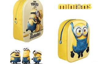 Mochila 3D oficial dos Minions por 13€ com Entregas em todo o País!
