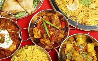 Almoço Indiano e Nepalês para 2 por 18€ na Estefânia!