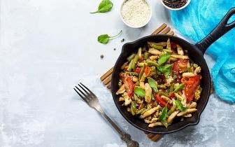 Menu Vegetariano para 2 Pessoas ao Jantar por 15€ na Estefânia!