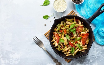 Sabores Vegetarianos para 2 Pessoas por 15€ na Estefânia ao jantar!