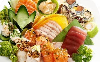 All You Can Eat de Sushi ao Jantar com Bebida por 17,90€ no Parque das Nações!