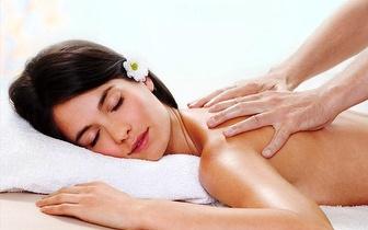 Massagem Relaxamento ou Terapêutica por 9,90€ no Areeiro!