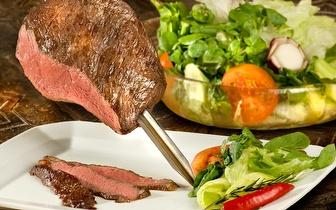 Oferta de caipirinha ao jantar em qualquer menu!