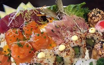 Sushi ao Almoço: Menu por 13,90€ em Massamá!