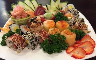 Delicia-te com Sushi ao Jantar por 18,50€ em Massamá!