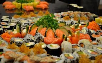 Buffet All You Can Eat de Comida Japonesa e Chinesa ao Jantar por apenas 9,90€ em Sete-Rios!