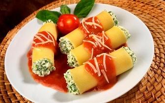 Refeição italiana para dois com 10% de desconto em fatura nos Restauradores!