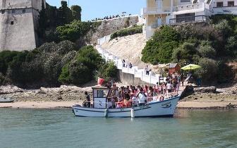 Passeio de Barco na zona do Moinho da Asneira por 9€/pessoa em Vila Nova de Milfontes!