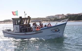 Passeio de Barco Curva de Santa Maria por 11€/pessoa em Vila Nova de Milfontes!