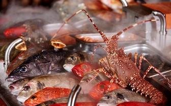 Peixe e Marisco ao Almoço com Vista para o Tejo e 10% desconto em fatura nas Docas!