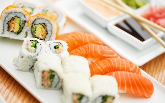 All You Can Eat de Sushi e Comida Chinesa ao jantar por 10,50€ em Sete Rios!