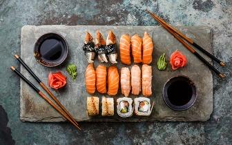 Take Away de Sushi ou Comida Chinesa ao almoço: Cada Caixa por 4,50€ em Sete Rios!