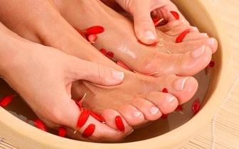 Manicure & Pedicure + Verniz Gel por 22€ na Estefânia!