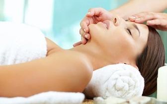 Indian Head Massage + Massagem Shiatsu Facial com Fitoaromaterapia por 15€ em São Cosme!