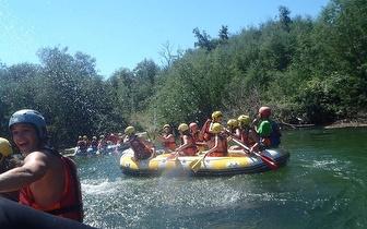Soft-rafting no Rio Cávado por 18€/pessoa na Póvoa do Lanhoso!