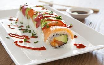 Menu para 2 de Sushi de Fusão por 23€ em Santos!