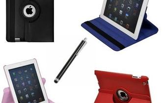 Capa 360º para iPad, só 16,90€ ! E ainda oferta de caneta Stylus para ecrãs táteis!