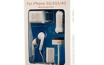 Kit de 5 acessórios para iPhone por apenas 15,90€ !!!