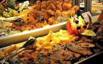 Buffet à discrição ao Almoço por apenas 6,75€ na Av. José Malhoa!