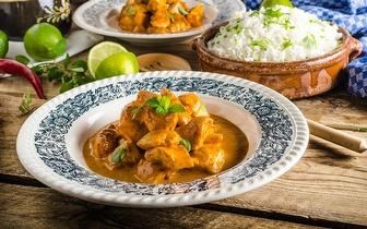 Menu Nepalês e Indiano para 2 Pessoas por 18€ jantar nos Anjos!