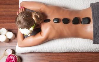 Massagem de Pedras Quentes de 40 min por 15€ em Gaia!