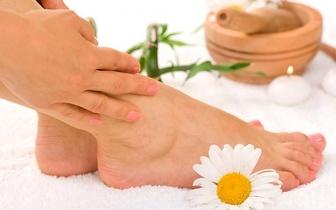 Manicure e Pedicure com Hidratação de Parafina + Massagem Relaxante por 19€ junto à Estefânia!