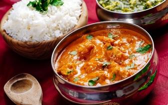 Comida Nepalesa para 2 por 18€ ao Jantar junto ao Marquês de Pombal!
