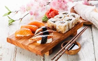 Sushi à la carte ao almoço com desconto de 40% em fatura em Carcavelos!