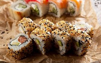Sushi à la carte ao Jantar com desconto de 40% em fatura, em Carcavelos!