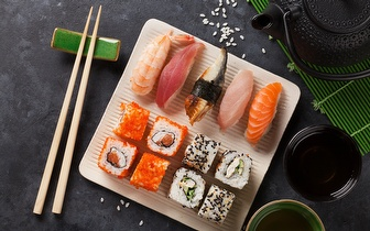 All You Can Eat de Sushi ao Almoço por 7,50€ em Alcântara!