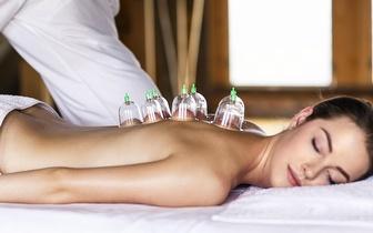 Massagem Tui Na com Ventosaterapia no Corpo Inteiro 60 min. por 19€ em Alvalade!