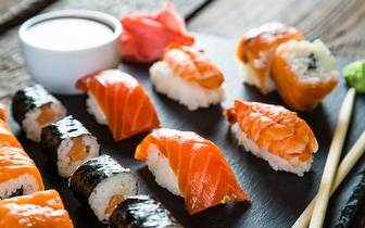 All You Can Eat de Sushi por 9,50€ ao almoço no Campera Outlet Shopping!