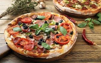 Menu para 2 Pessoas de Pizza à escolha por 18,50€ na Beloura!