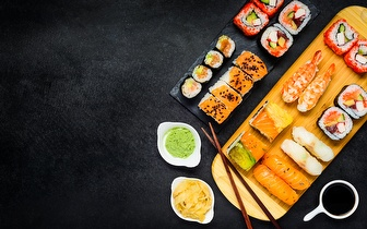 All You Can Eat de Sushi por 8,50€ ao Jantar no Parque das Nações (junto à FIL)!