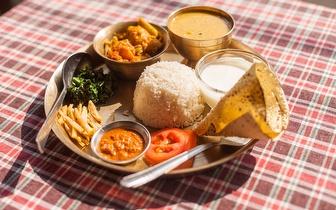 Menu Completo de Comida Nepalesa e Indiana para 2 Pessoas por 17€ nos Anjos!